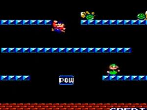 Первая игра Mario Bros